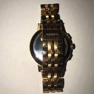 Fossil Accessories - Fossil Q Gazer rose gold hybrid smartwatch
